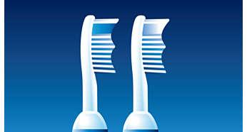 Włókna Przypominające zapewniają najbardziej skuteczne czyszczenie