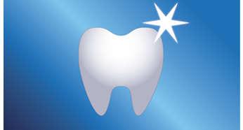 Naturalnie bielsze zęby dzięki opatentowanej technologii sonicznej