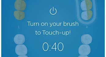 Funkcja TouchUp daje drugą szansę na wyczyszczenie miejsc, które zostały pominięte