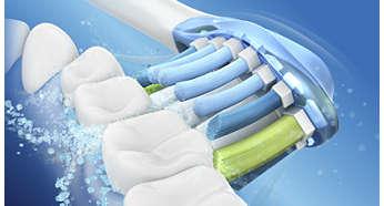 Dynamiczny sposób czyszczenia zapewnia lepszy stan zdrowia jamy ustnej