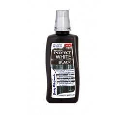 BEVERLY HILLS Perfect White BLACK 500ml - płyn do płukania jamy ustnej
