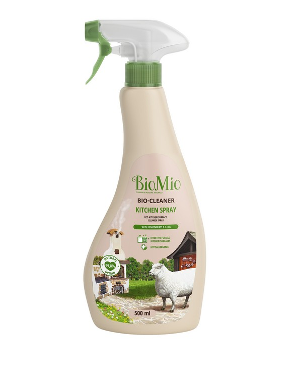Biomio Bio Cleaner Ekologiczny Spray Do Kuchni 500 Ml Z