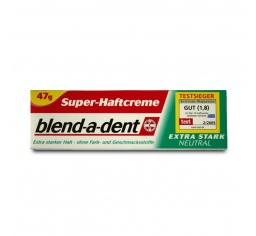 Blend-a-dent klej do protez Neutral 47 g /OUTLET/