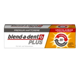 Blend-a-dent klej do protez PLUS (złoty) 40 g - super mocny