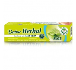 Dabur Herbal Aloe Vera 100ml - pasta do zębów z aloesem