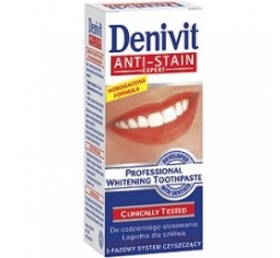 DENIVIT pasta fluor Anti-Stain Expert 50ml.